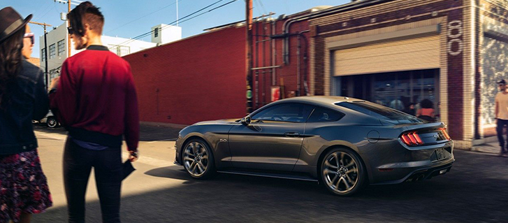 2019 Ford Mustang Pre-Collision Assist With Pedestrian Detection