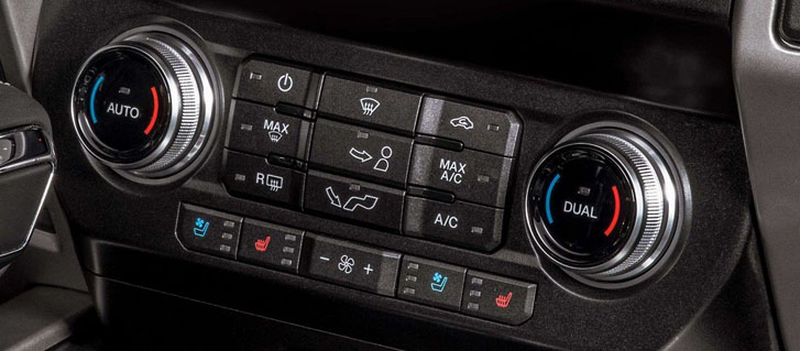 Dual-Zone Electronic Automatic Temperature Control