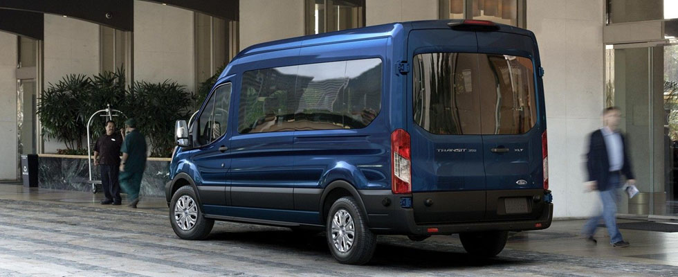 2019 Ford Transit Passenger Van Safety Main Img