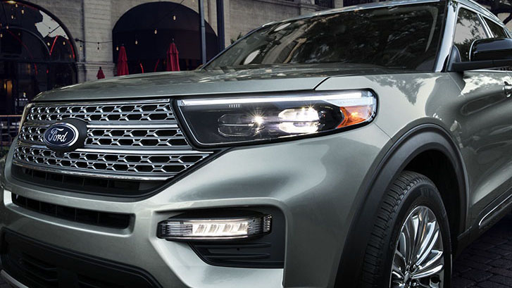 2020 Ford Explorer LED lighting
