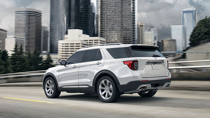 2020 Ford Explorer Rear-Wheel Drive