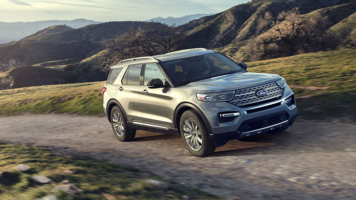 2020 Ford Explorer Terrain Management