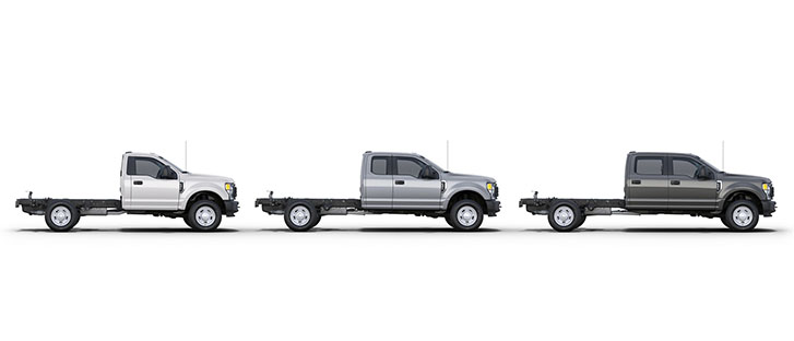 2020 Ford Super Duty Chassis Cab comfort