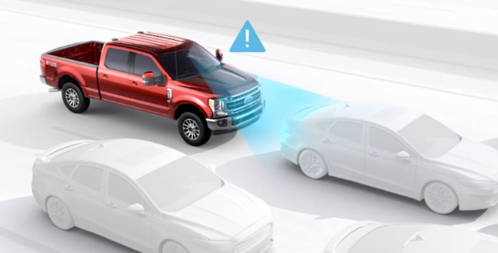 2020 Ford Super Duty safety