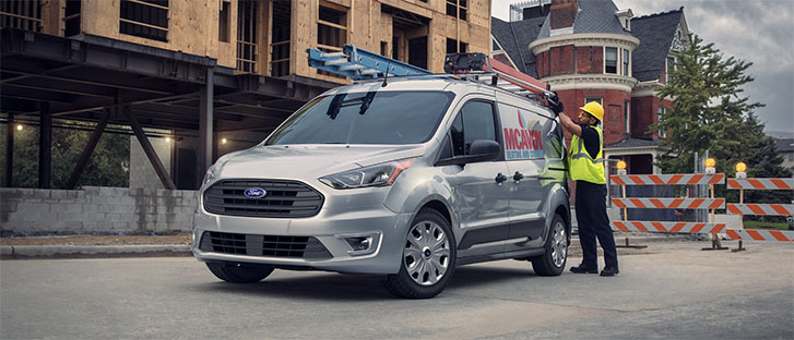 2020 Ford Transit Connect Cargo Van performance