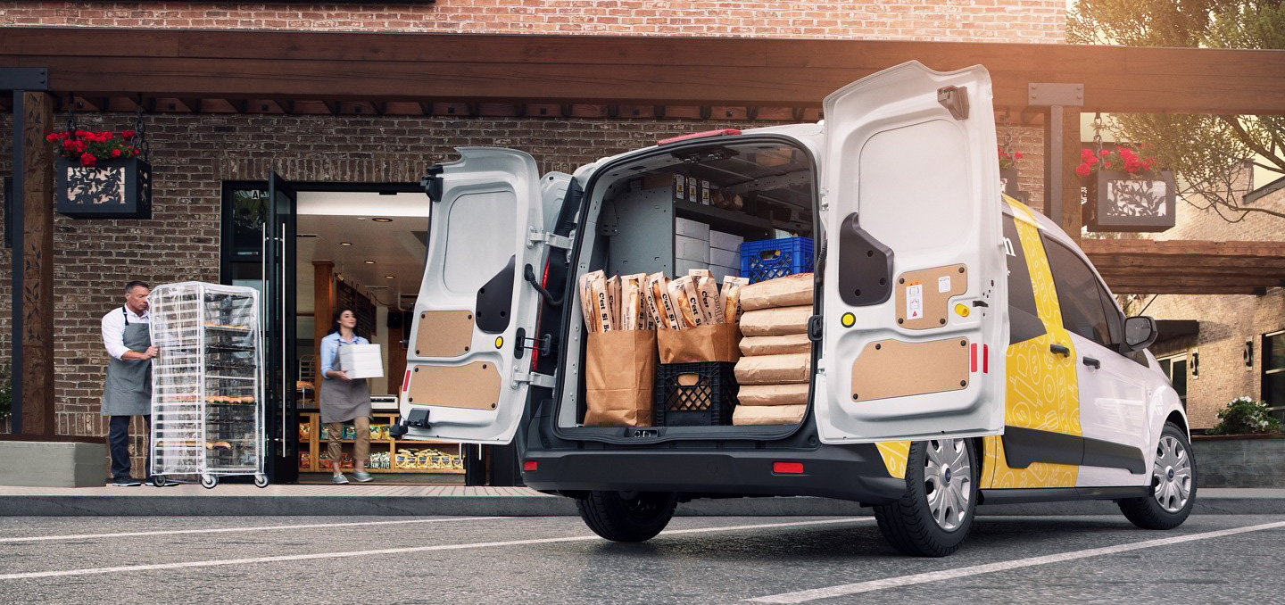 2020 Ford Transit Connect Cargo Van Safety Main Img