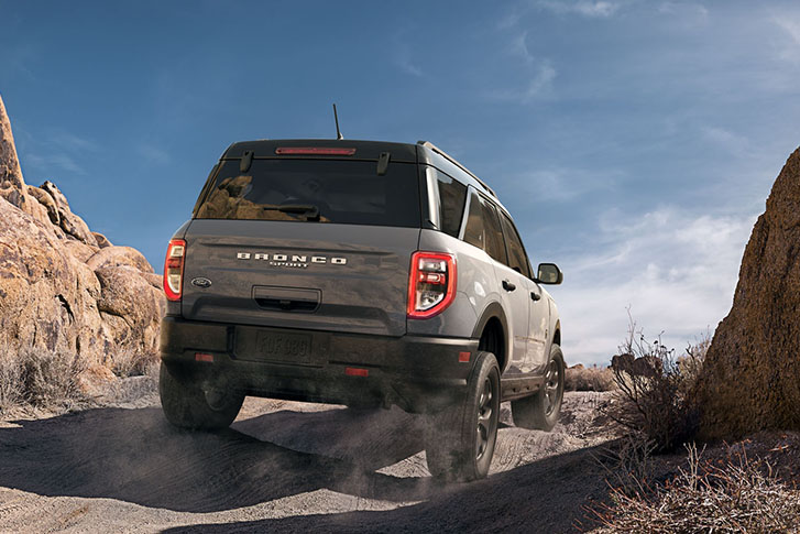 2021 Ford Bronco Sport safety