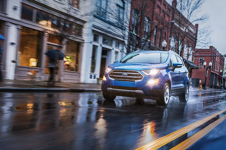 2021 Ford Ecosport performance