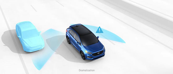 2021 Ford Edge safety