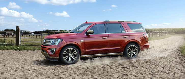2021 Ford Expedition comfort