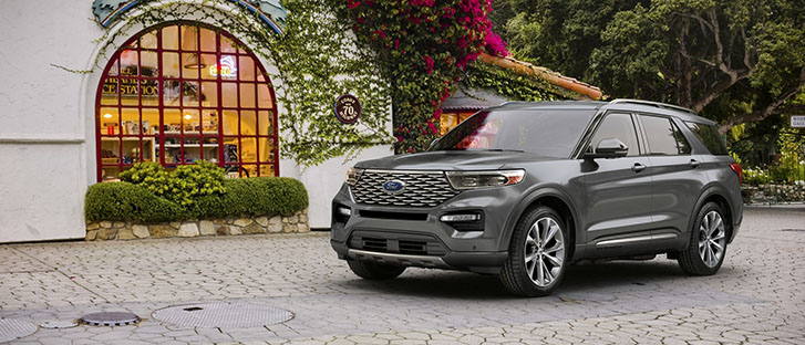 2021 Ford Explorer appearance