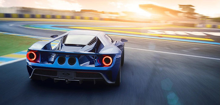 2021 Ford GT performance
