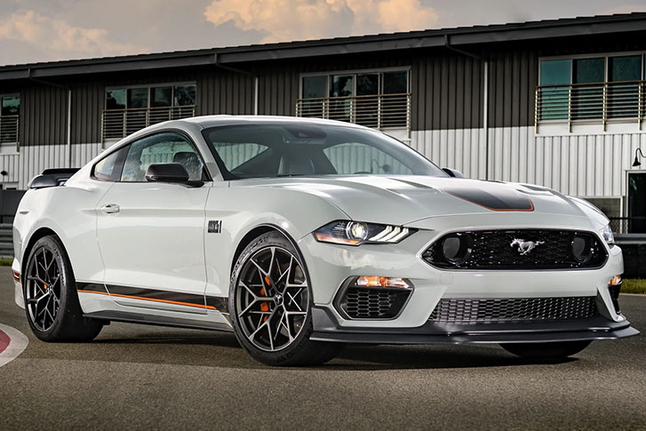 2021 Ford Mustang appearance