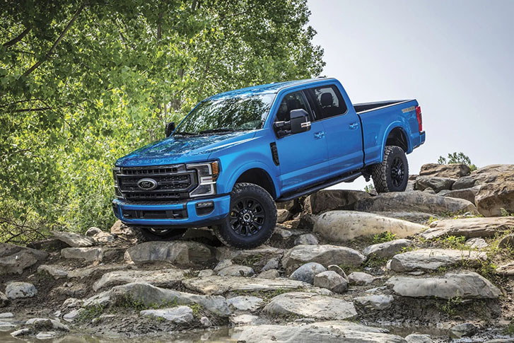 2021 Ford Super Duty appearance