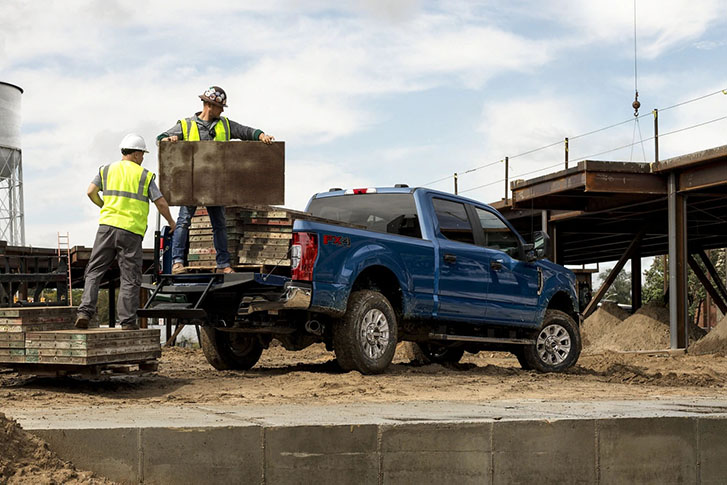 2021 Ford Super Duty comfort