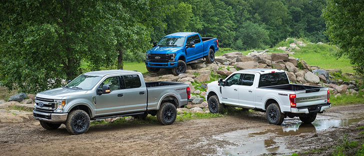 2021 Ford Super Duty performance