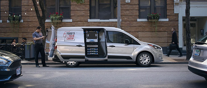 2021 Ford Transit Connect Cargo Van comfort