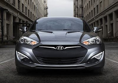 2016 Genesis Coupe appearance