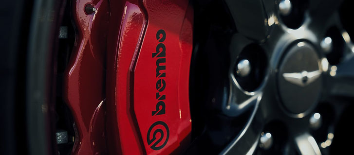 Available Brembo® Brakes