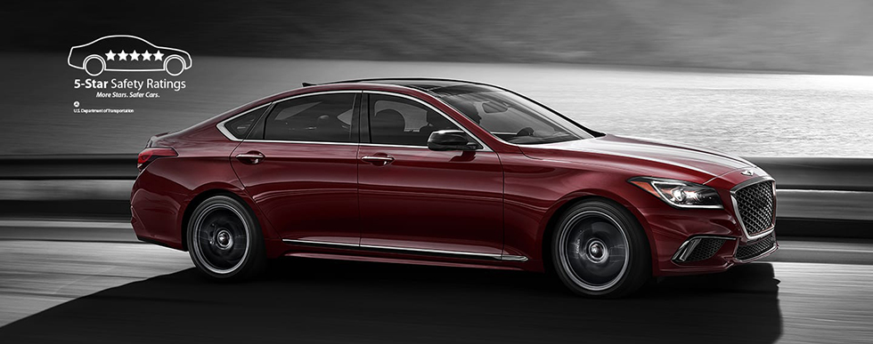 2019 Genesis G80 Sport Safety Main Img