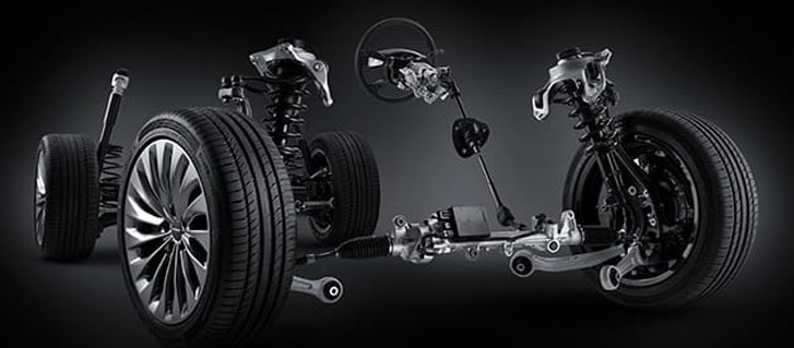 Genesis Adaptive Control Suspension