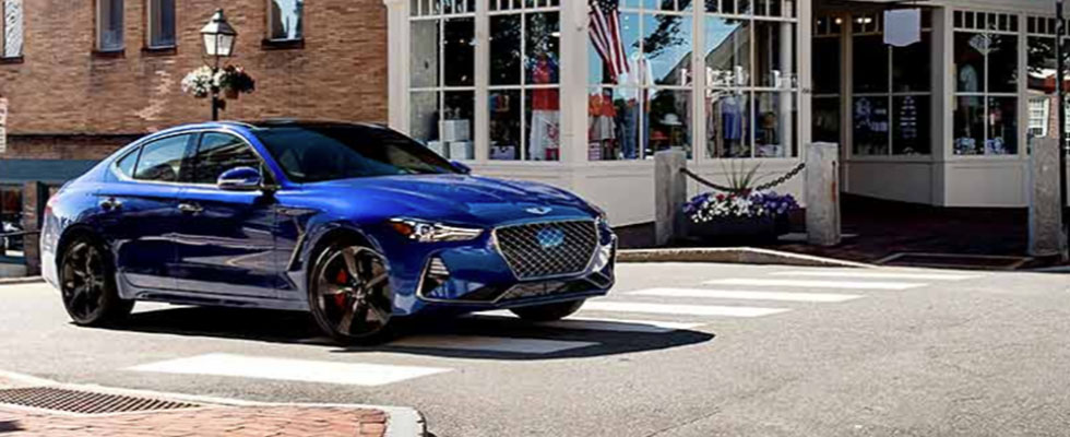 2020 Genesis G70 Safety Main Img