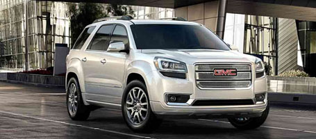 2015 GMC Acadia Denali performance
