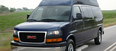 2015 GMC Savana Passenger performance