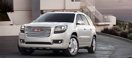 2016 GMC Acadia Denali performance