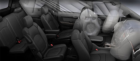 2016 GMC Acadia Denali safety