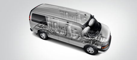 2016 GMC Savana Cargo safety