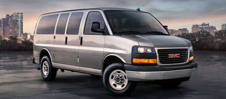 2016 GMC Savana Passenger performance