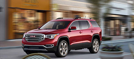 2017 GMC Acadia safety
