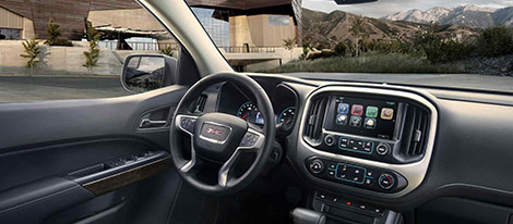 2017 GMC Canyon comfort