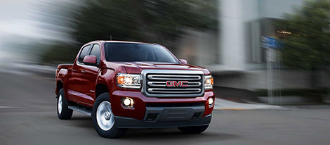 2017 GMC Canyon safety