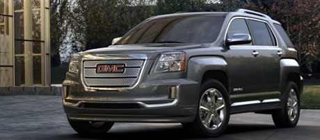 2017 GMC Terrain Denali safety