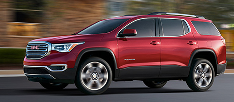 2018 GMC Acadia performance