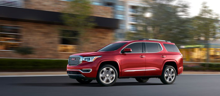 2019 GMC Acadia Denali Performance Ride and Handling Suspension