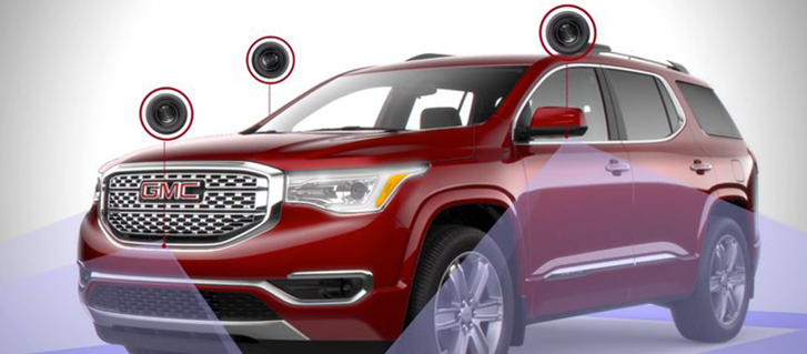 2019 GMC Acadia Denali Surround Vision