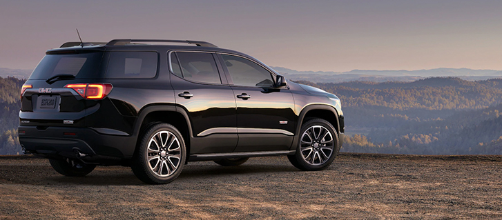 2019 GMC Acadia Continuously Variable Real-Time Damping Suspension