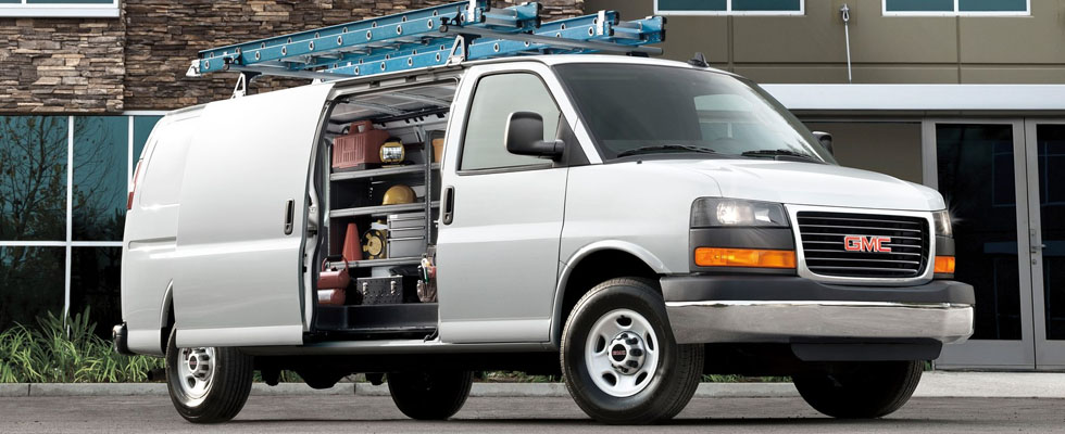 2019 GMC Savana Cargo Safety Main Img