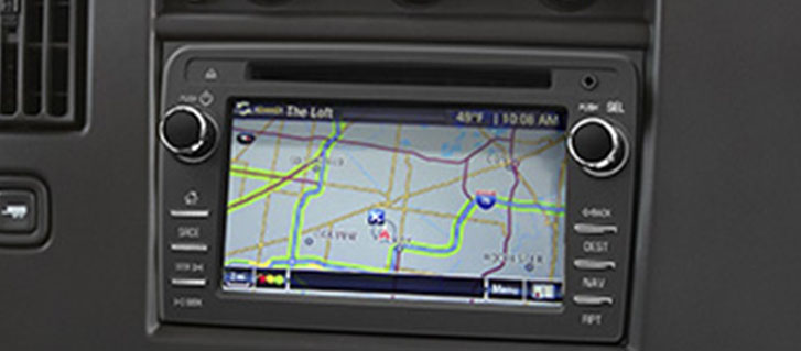 Available GMC Infotainment System with Color Touch-Screen and Navigation