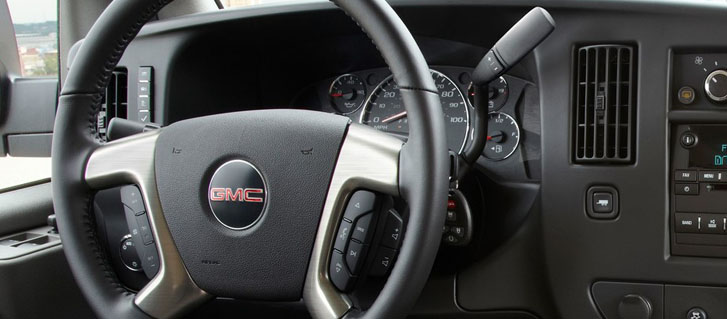 Available Leather-Wrapped Steering Wheel