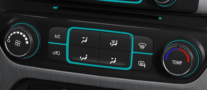 Available Dual-Zone Automatic Climate Controls