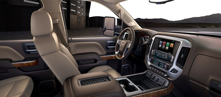 2019 GMC Sierra 2500HD Heated and Ventilated, Perforated Leather-Appointed Front Seats