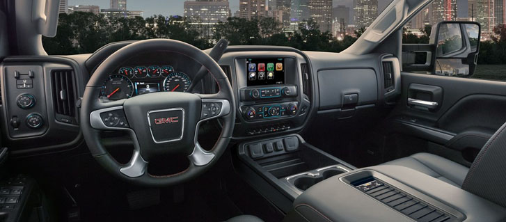 2019 GMC Sierra 2500HD All Terrain Interior