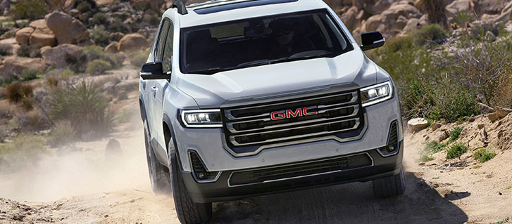2020 GMC Acadia AT4 performance