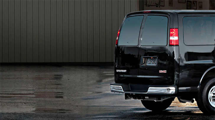 2020 GMC Savana Cargo Van safety