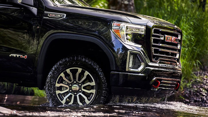 2020 GMC Sierra 1500 AT4 appearance