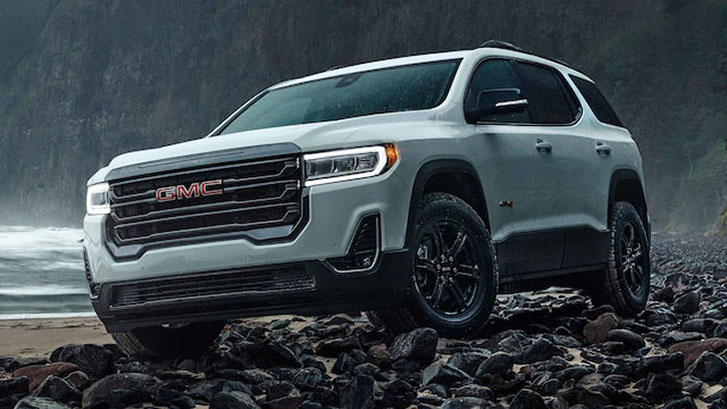 2021 GMC Acadia AT4 appearance